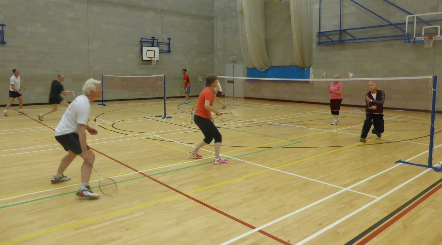 St George's sports hall Summer season